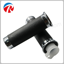 Retro Grand 50 cc motorcycle scooter black rubber handle grip(China)