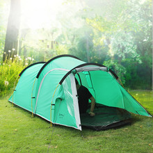 2 room Large camping tent 3-4 person outdoor camping pergola hiking hunting fishing tourist gazebo party tent