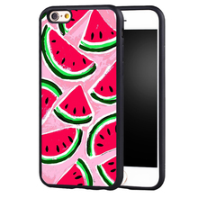 Fashion Fruit Summer Holiday Beach Watermelon Design case cover For Samsung s4 s5 s6 S7 S6edge S8 S8plus note 2 3 4 5