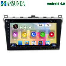 HD 1024*600 10.1 inch android 6.0 car dvd player for MAZDA6 MAZDA 6 with radio/RDS/DAB+ 3G 4G WIFI BT SWC Mirror Link GPS MAPS