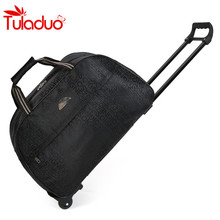 2017 Wheel Luggage Metal Trolley Bag New Women Travel Bags Hand Trolley Unisex Bag Large Capacity Travel Bags Suitcase Sac Board(China)