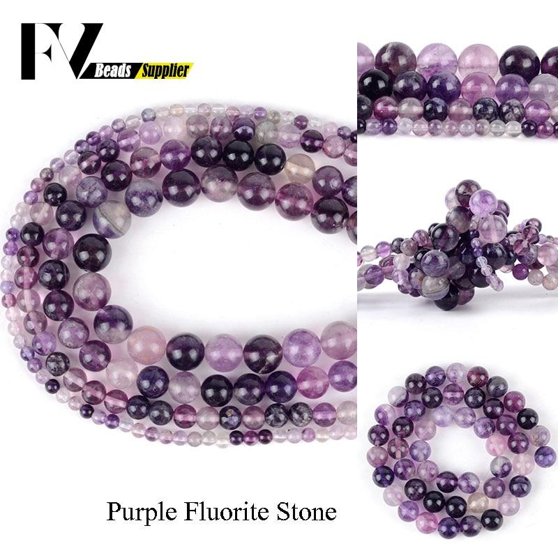Natural Fashion 6//8//10//12mm Purple Sugilite Gemstone Round Bead Necklace 18/'/' AA
