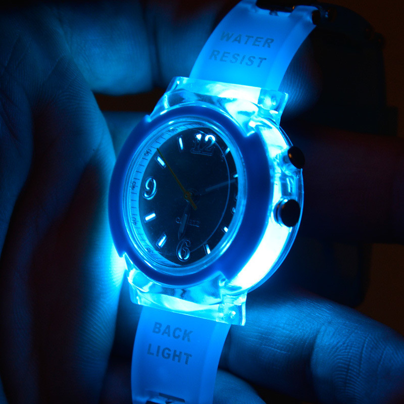 Authentic EVECICO children waterproof sports watch students table table multifunctional luminescence can quartz watch<br>