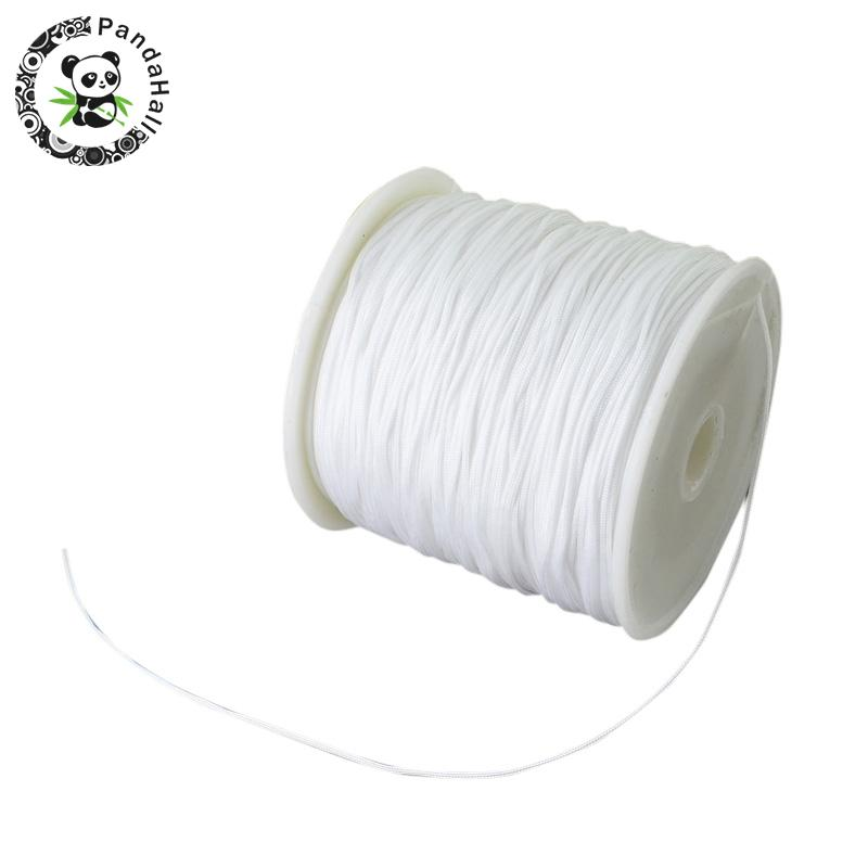 0.8mm 90m/roll Nylon Thread Cord For Bracelets Beading Necklace Jewelry DIY Accessories Making 10