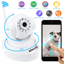 KKmoon IP Camera WIFI 720P Home Security Surveillance System Onvif P2P Phone Remote 1.0MP Wireless Video Surveillance Camera(China)