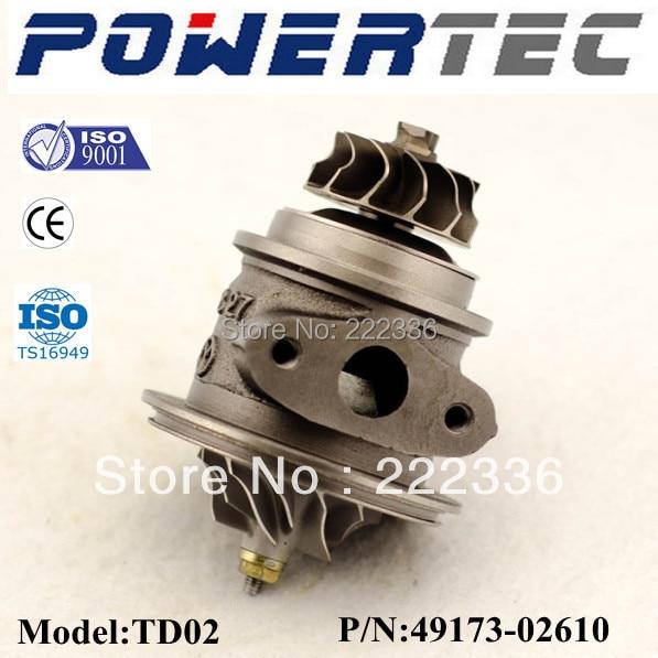 Balanced CHRA TD02 4917302622 4917302620 4917302612 4917302610 turbo core cartridge for Hyundai Getz 1.5 CRDi 82HP D3EA<br><br>Aliexpress