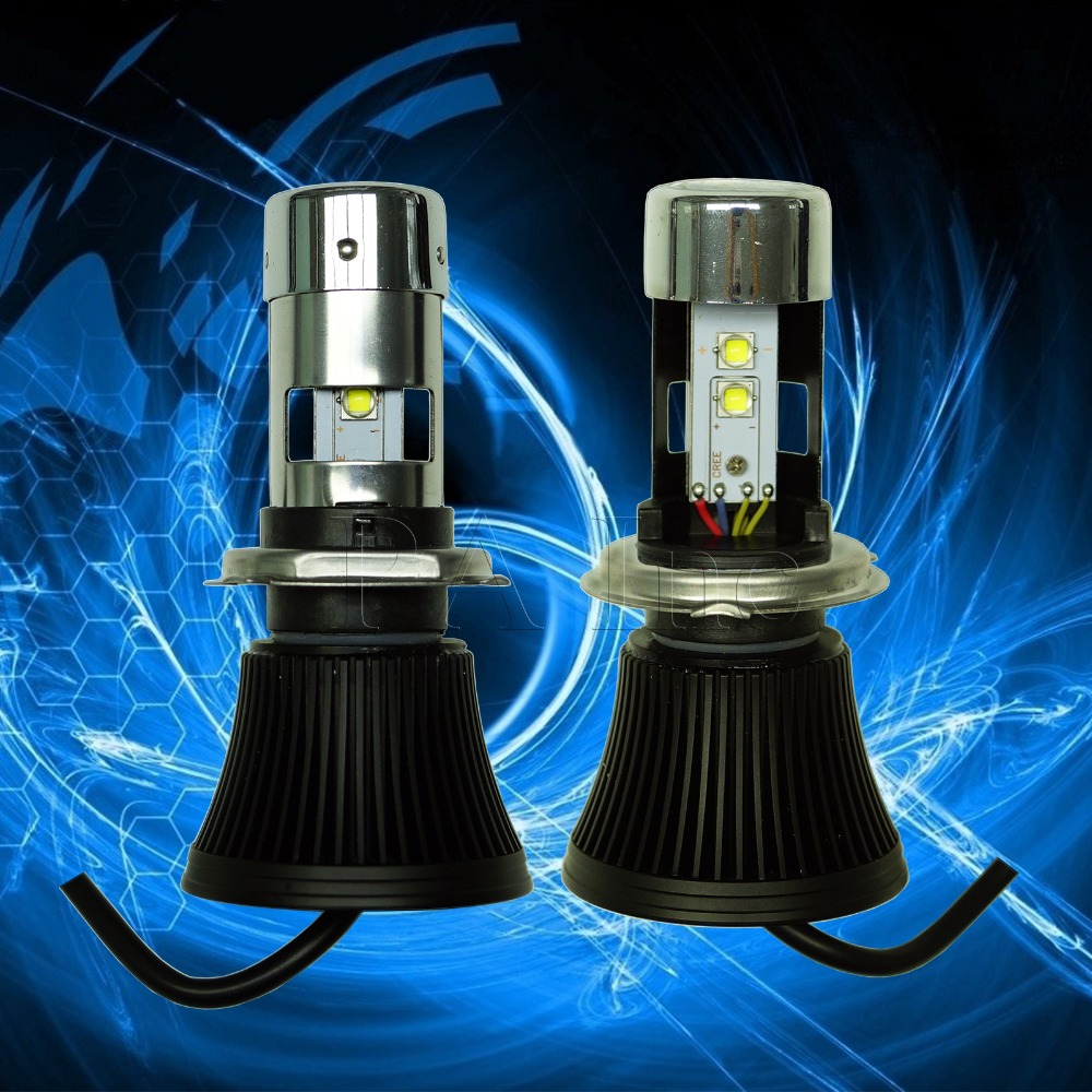 2PCS 40W H4 XB-D High Power Super Bright LED For Motorcycle Motorbike Light Headlight White<br><br>Aliexpress