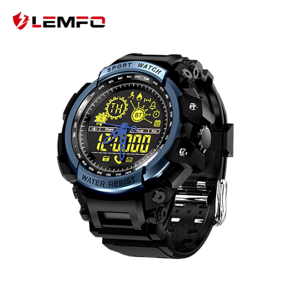 LEMFO LF21 Professional Sport Bluetooth Smart Watch Men Waterproof IP68 Ultra-long Standby SmartWatch Iphone Ios Andriod