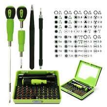 Screwdriver Set With Handle 53 in1 Multi-Bit Precision Tweezer Torx Disassembly Screwdriver Repair Tool Set for Cell Phone PC