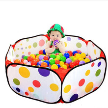 100Pcs/Set 5.5CM Eco-Friendly Soft Plastic Water Pool Ocean Wave Ball Pits Baby thicker Toys stress air ball outdoor fun sports