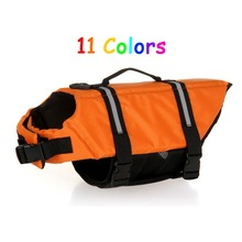 Swimming Wear Swimsuit Clothes Oxford Breathable Float Dog Life Jacket Pet Life Vests Lifejacket for Puppy Small Large Dogs