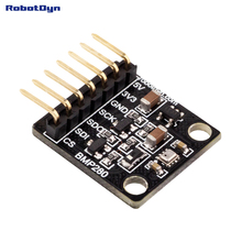 BMP280 - 5V/3.3V - I2C/SPI bus. Barometric Pressure Sensor. Power protection.(China)