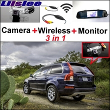 Lisslee For Volvo XC90 2002~2017 3 in1 Special Rear View Wifi Camera + Wireless Receiver + Mirror Monitor Easy  Parking System