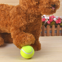 6.5cm Green Pet Rubber Pinball To Bite Molars Toys Environmental Protection Pet Tennis Ball Toy Chew Toys Supplies ZQ881249(China)