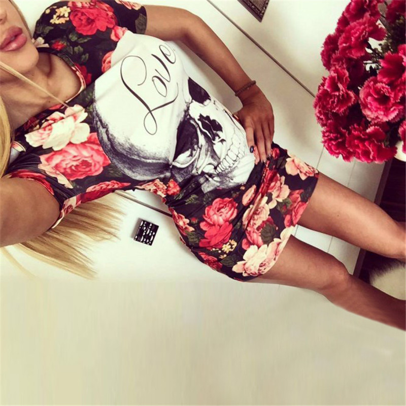 19 New Summer Fashion Women Sexy Tank Dress Slim Casual Camouflage Military O-Neck Print Splice Empire Mini Dresses Vestidos 46