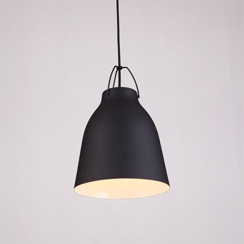 Nordic Coffee Retro Industrial Single Head Chandelier Loft Simple Creative Bar Bar Restaurant Pendant Lamps free shipping<br>