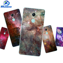 DIY Custom Cases For Xiaomi 5S / 5S Plus For Xiaomi Redmi Note 4 or Pro / 4X Shell Transparent Soft TPU Star Texture Printing(China)