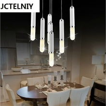 LED Fashion ring acrylic chandelier Modern acrylic LED 21 w(China)