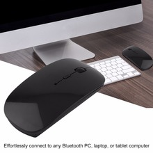 Portable Rechargeable Bluetooth 3.0 Gaming 1200 DPI Adjustable Wireless Mouse For Laptop PC Tablets Computer Mouse VML-09(China)