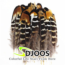 "50 PCS Small Rooster Feathers Diy 2-4""/5-10cm Cheap Bulk Feathers For Decoration Crafts Natural Pheasant Plumes For Sale Wedding(China)"