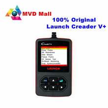 Promotion !!! 100% Original Launch Creader V+ OBDII Code Scanner Creader V Plus Same Function As Creader VI  Free Shipping