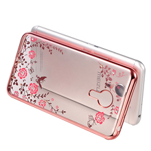 Luxury Butterfly Floral Flower Diamonds Shiny Plating Bumper Soft Flexible TPU Skin Case For Meizu Pro 6 5 M3 note 3 Accessories