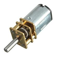 Mayitr 1pc 30RPM N20 Micro Speed Gear Motor DC 6V  Reduction Gear Motors with Metal Gearbox Wheel