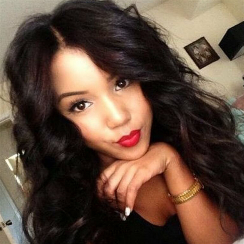 Full Lace Human Hair Wigs Brazilian Body Wave Lace Front Wigs brazilian hair wigs Natural Color<br><br>Aliexpress
