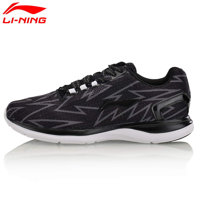 Li-Ning Womens Light Runner Running Shoes Textile Breathable Sneakers Wear-Resistance LiNing Sports Shoes ARBM012<br>