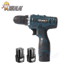 16.8V lithium battery*2 1350r/min Torque cordless drill electric screwdriver electric drill driver extra battery power tools(China)