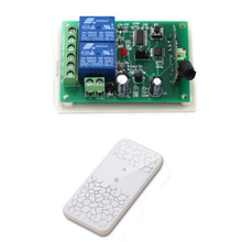 New Item 2CH Radio Frequency RF Wireless Remote Control Switch System Receiver Board & 4pcs Transmitter Controller Learning Code