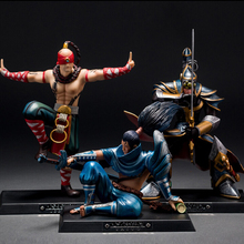 Game PVC Action figure Yi Yasuo Lee Sin Collectible Model Toy  Christmas Birthday Gift