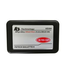 2016 FGTECH V54 Galletto 4 master VD300 BDM-TriCore-OBD Unlock Version better than fg tech v53 GALLETTO 2 chip tuning tool(China)