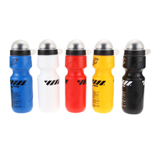 1Pcs 650ML Portable Outdoor Bike Bicycle Cycling Sport Drink Jug Water Bottle Cup Tour De France Bicycle Bottle 5 Color(China)