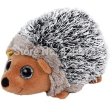 New Beanie Big Eyed Spike Hedgehog Stuffed Animals Kids Plush Toys Children Gifts 15CM(China)