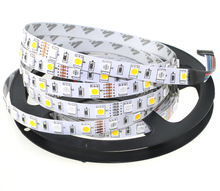 A3 LED Strip 5050 RGBW Waterproof DC12V Flexible LED Light RGB + White / RGB + Warm White 60 LED/m 5m/lot