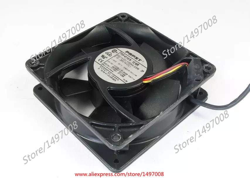 Free Shipping For ebmpapst 4114N/12MR ZP DC 24V 145MA 3-wire 3-pin connector 110mm 120X120X38mm Server Square Cooling fan<br>
