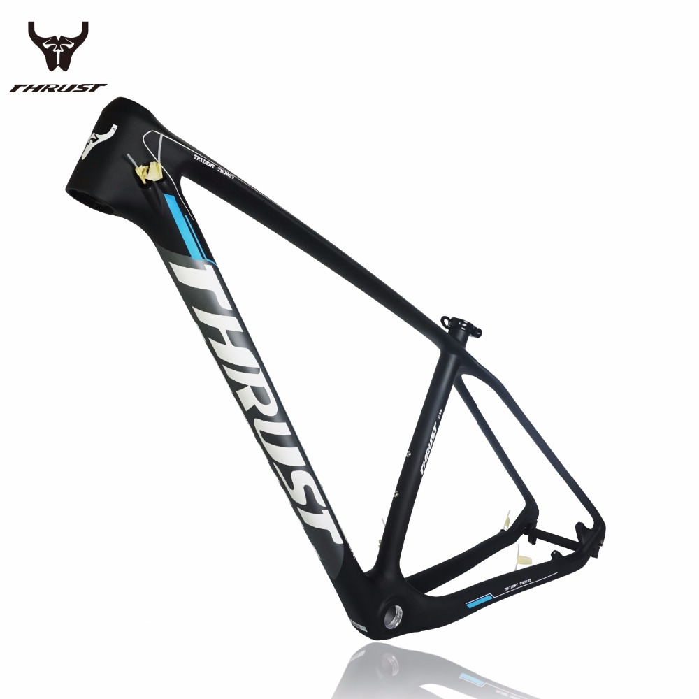 2016 THRUST Bicycle Frame New Cheap Carbon Frame T1000 UD Full Carbon MTB Frame 29er thru axle Carbon Mountain Bikes frame