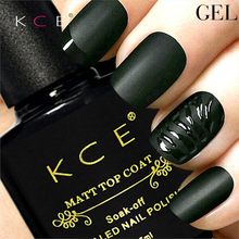 New Arrival KCE Matt Varnish Matte Top Coat Nail Gel Polish Nail Art Finish Top Coat Gel Lacquer Matt Top Gel 7.5ML/pc