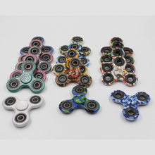 Colorful Hand Tri-Spinner Fidgets Alloy EDC Fidget Spinners For Autism And ADHD Auxiety Stress Relief Focus Gyroscope Toys Gift