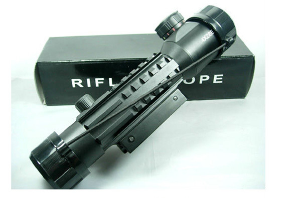 caza scopes Professional 4X28E Rifle Gun Scope Top Hunting Riflescope riflescope<br><br>Aliexpress