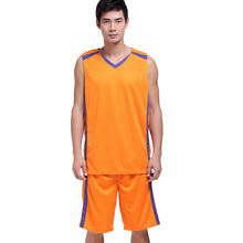 DIY men cheap throwback basketball jerseys kits training sporting colleage basketball tracksuits good quality outdoor uniforms(China)