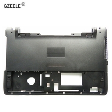 GZEELE New laptop Bottom case cover For ASUS X550 X550C X550VC X550V A550 Laptop MainBoard Bottom D case without USB hole BLACK(China)