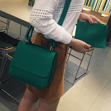 2017 Promotion Tote Polyester Shoulder Bags Korea Dongdaemun New Handbag Retro All-match Large Clamshell Laptop Bag