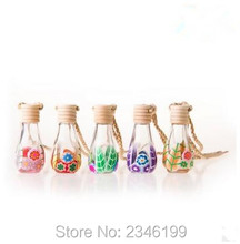 30pcs/lot Empty Chinese Style Fimo Perfume Bottle, Fashion Small Polymer Clay Refillable Container, Elegant Perfume Empty Bottle(China)