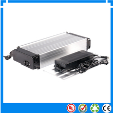 Electric Bike Battery Pack 48V 10Ah Rear Rack Type With 2A Charger,lithium ion 48v battery pack