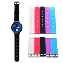 Kimisohand Colorful Fashion Design Silicone Luxury  Watch Band Strap For LG G W100 W150 W110 Watch