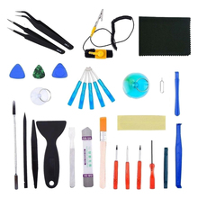 31 pcs Universal Screen Removal Professional Opening Repair Tool Kit Pry Tools Kit and Screwdriver Set for iPhone and Laptop(China)