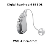 AST cheap hearing aid EP07 OE Digital hearing aid BTE sound amplifier hearing device for mild to mederate hearing loss(China)