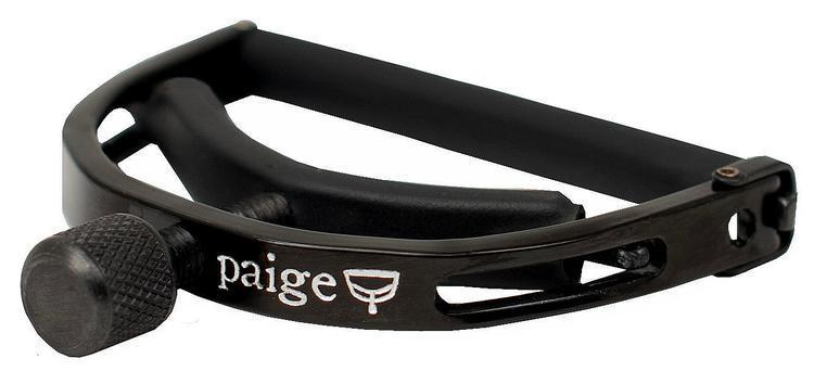 Paige P-6E 6-string Standard Capo - Black<br>